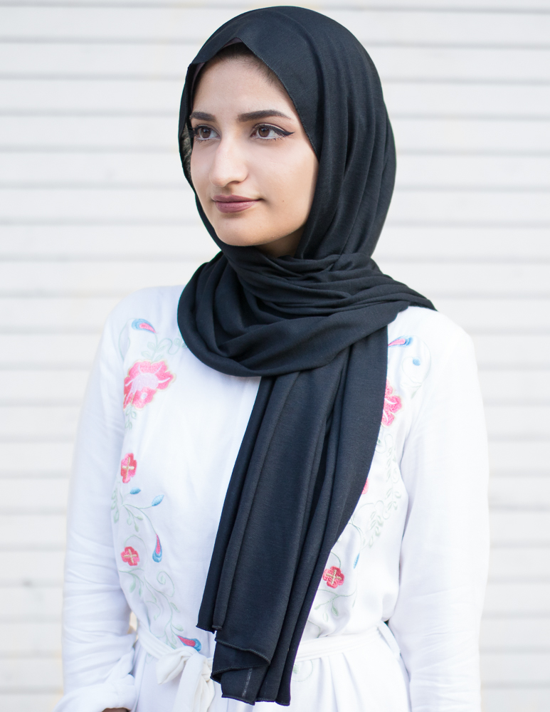 hijab black